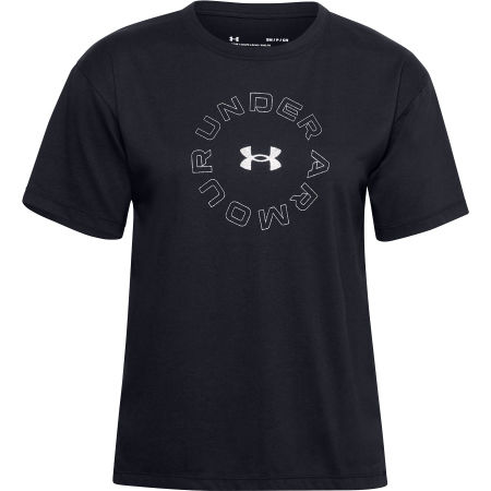 Women's T-shirt - Under Armour LIVE FASHION WM GRAPHIC SS - 1