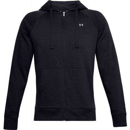 Under Armour RIVAL FLEECE FZ HOODIE - Hanorac de bărbați