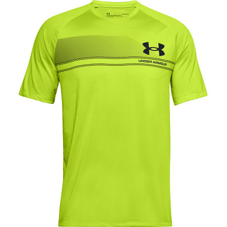 Men's T-shirt - Under Armour LOGO WORDMARK TECH SS - 1