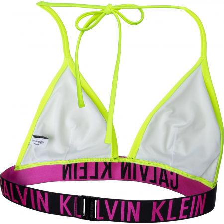Dámsky vrchný diel plaviek - Calvin Klein FIXED TRIANGLE-RP-N - 3