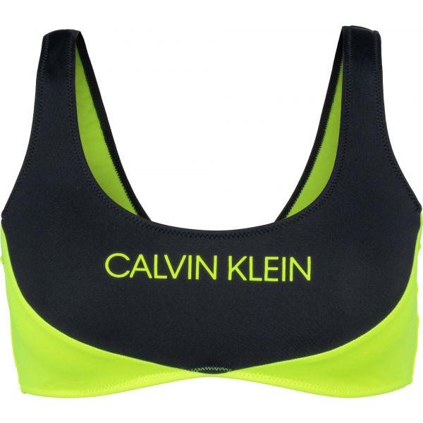 Calvin Klein BRALETTE  S - Dámsky vrchný diel plaviek