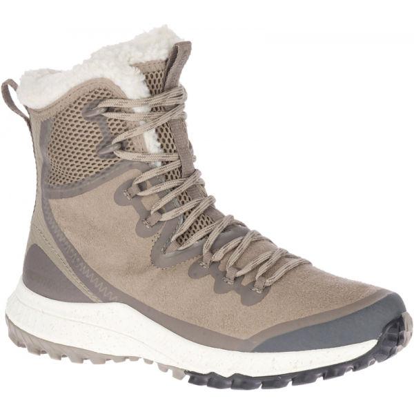Merrell BRAVADA PLR WP šedá 5.5 - Dámské zimní boty
