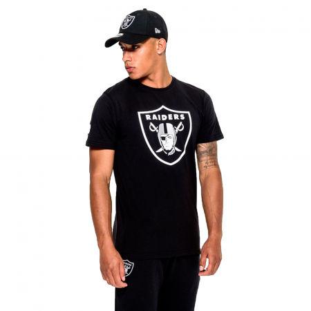 New Era NFL TEAM LOGO TEE OAKLAND RAIDERS - Koszulka męska