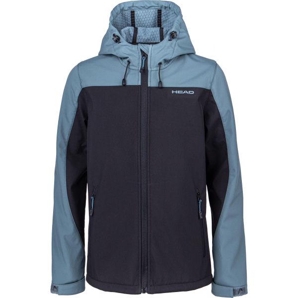 Head JAVA černá 116-122 - Dětská softshellová bunda