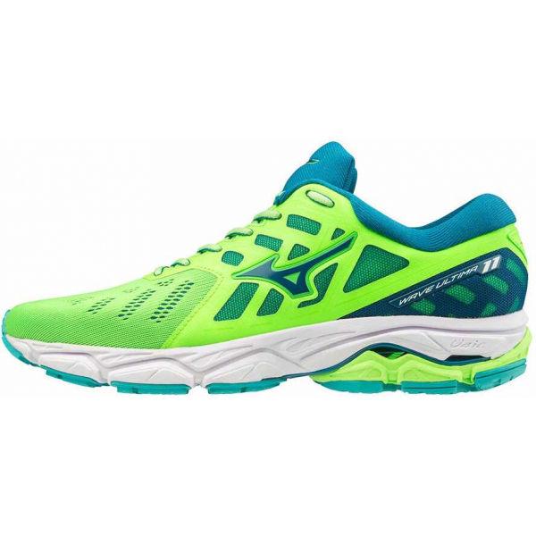 Mizuno WAVE ULTIMA 11 zelená 9 - Pánska bežecká obuv