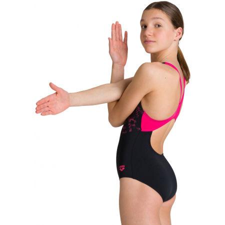 Girls' one-piece swimsuit - Arena RHYMING JR SWIM PRO BACK ONE PIECE - 7
