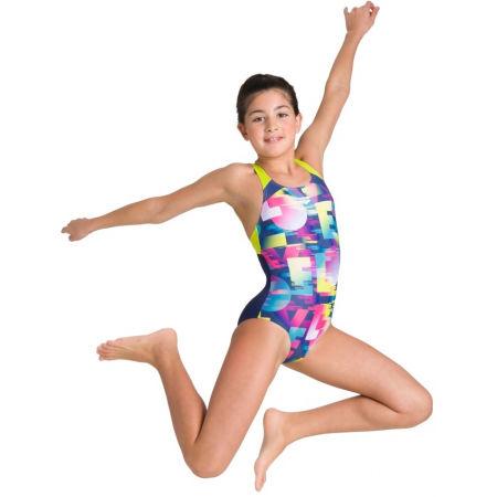 Dívčí jednodílné plavky - Arena SWIM LOVE JR SWIM PRO BACK ONE PIECE - 8