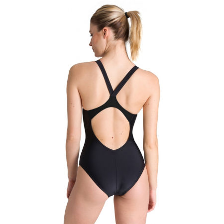 Women's one-piece swimsuit - Arena MIRRORED V BACK ONE PIECE - 4