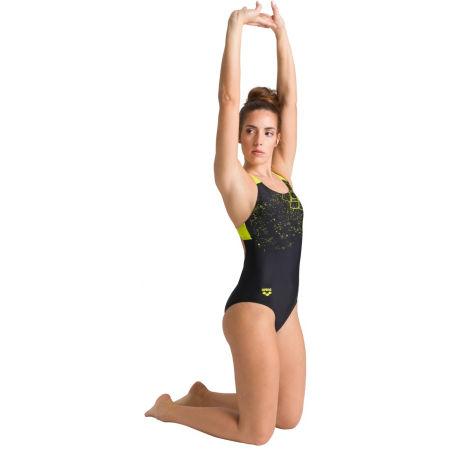 Дамски цял бански костюм - Arena LIGHTNING SWIM PRO BACK ONE PIECE - 8