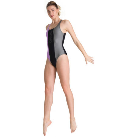 Women's one-piece swimsuit - Arena JUST 0 BACK ONE PIECE - 8