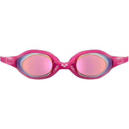 Junior swimming goggles - Arena SPIDER MIRROR - 2