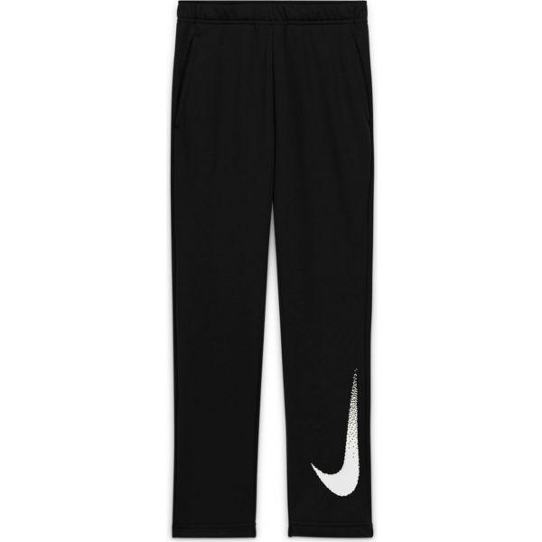 Nike DRY FLC PANT GFX2 B černá L - Chlapecké kalhoty