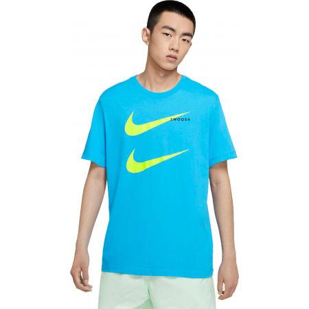 Pánské tričko - Nike NSW SS TEE SWOOSH PK 2 M - 1