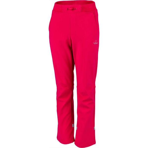 Lewro CARNOLO  116-122 - Dívčí softshellové kalhoty