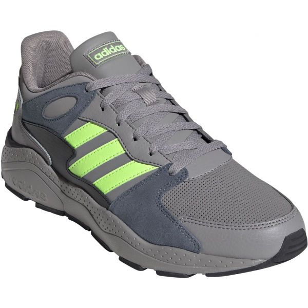 adidas CRAZYCHAOS tmavě šedá 10.5 - Pánská volnočasová obuv