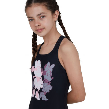 Dívčí jednodílné plavky - Speedo MINNIE MOUSE PLACEMENT MEDALIST - 3
