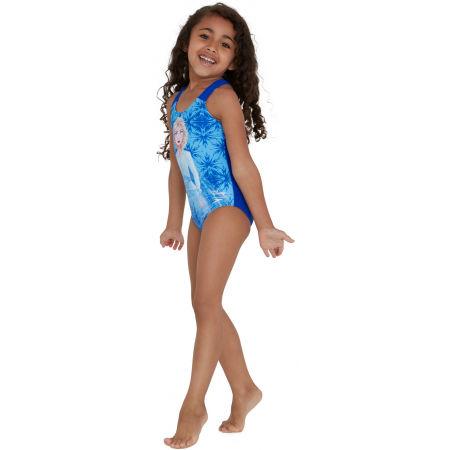 Dievčenské jednodielne plavky - Speedo DISNEY FROZEN 2 ELSA DIGITAL PLACEMENT - 3