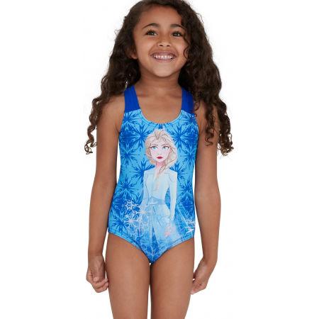 Dievčenské jednodielne plavky - Speedo DISNEY FROZEN 2 ELSA DIGITAL PLACEMENT - 4