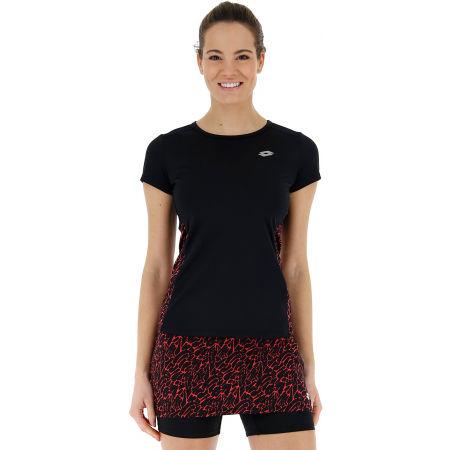Dámske športové tričko - Lotto SPEEDRUN W III TEE PRT PL - 4