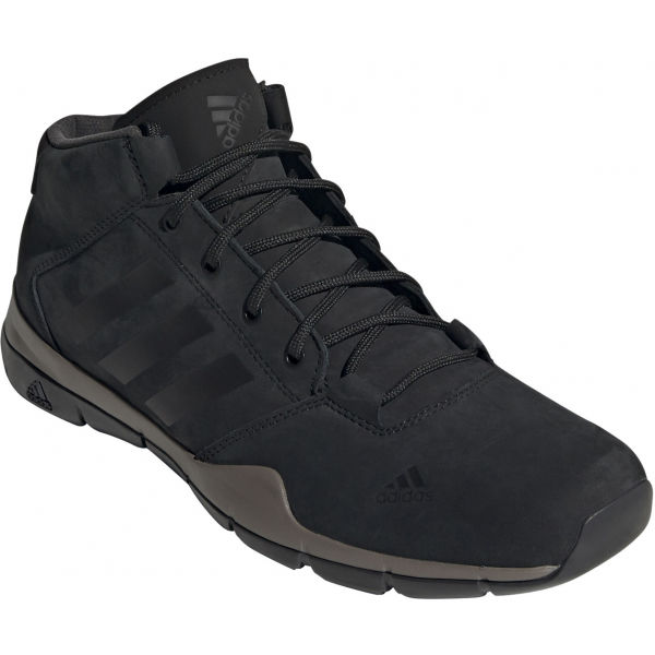 adidas ANZIT DLX MID černá 10 - Pánská vycházková obuv