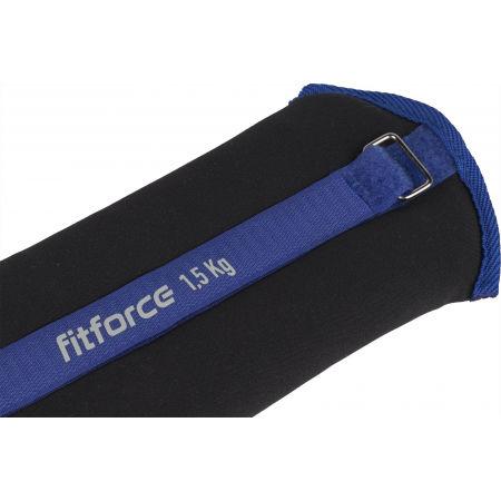 Závažie na členky - Fitforce ANKLE 1,5 KG - 2