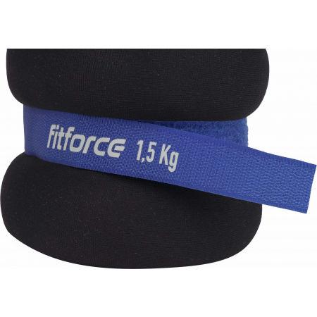 Závažie na členky - Fitforce ANKLE 1,5 KG - 3