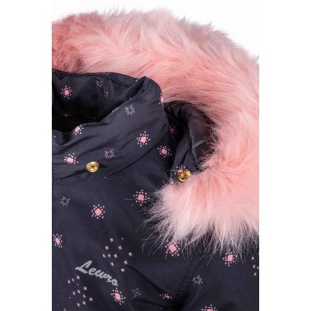 Girls' coat - Lewro HILDEGARDA - 4