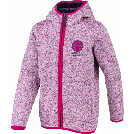 Hanorac fleece copii cu aspect de pulover - Lewro SOLON - 2