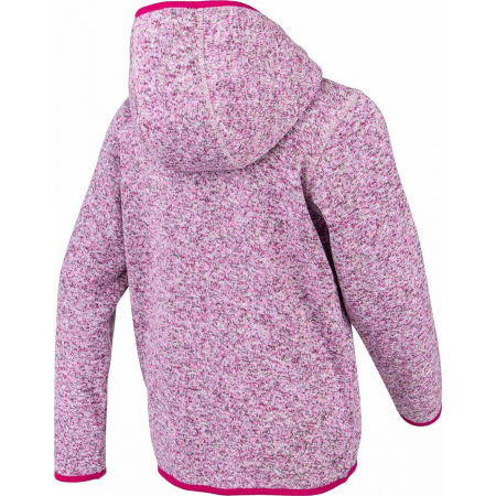 Hanorac fleece copii cu aspect de pulover - Lewro SOLON - 3