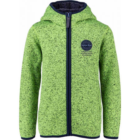Lewro SOLON - Hanorac fleece copii cu aspect de pulover