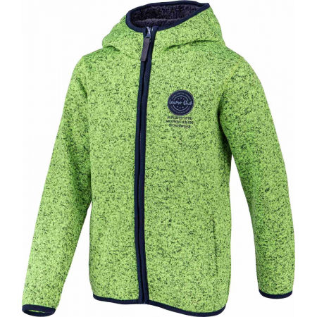 Women's fleece sweatshirt - Lewro SOLON - 2