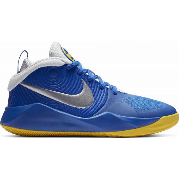 Nike TEAM HUSTLE D9  3.5Y - Dětská basketbalová obuv
