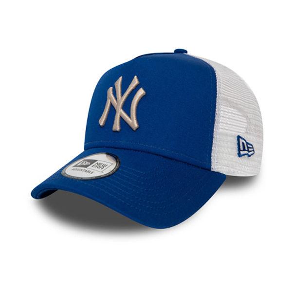 New Era 9FORTY NEW YORK YANKEES BLUE TRUCKER  UNI - Klubová kšiltovka