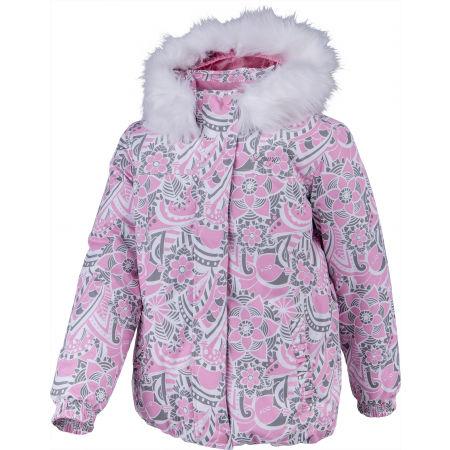 Girls' winter jacket - Lewro ESET - 2