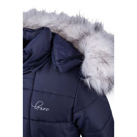 Dievčenský zimný kabát - Lewro NETY - 6