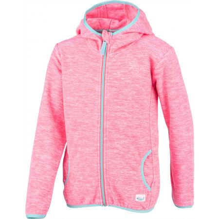 Girls' fleece sweatshirt - Lewro EFREN - 2