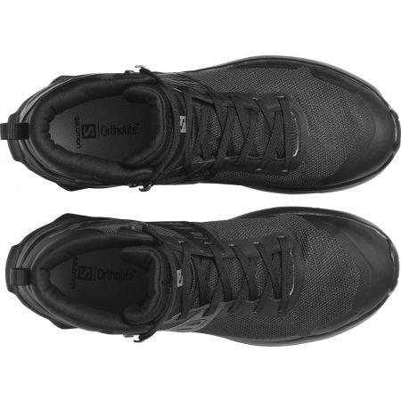 Pánská turistická obuv - Salomon X RAISE MID GTX - 3
