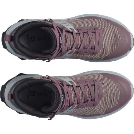 Dámska turistická obuv - Salomon X RAISE MID GTX W - 3