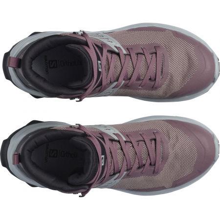 Дамски туристически обувки - Salomon X RAISE MID GTX W - 3
