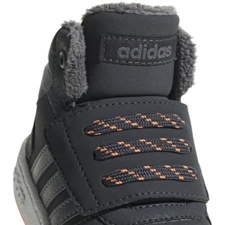 Detská voľnočasová obuv - adidas HOOPS MID 2.0 I - 3