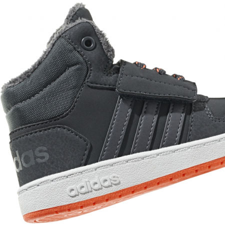 Detská voľnočasová obuv - adidas HOOPS MID 2.0 I - 4