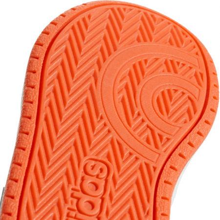 Detská voľnočasová obuv - adidas HOOPS MID 2.0 I - 5