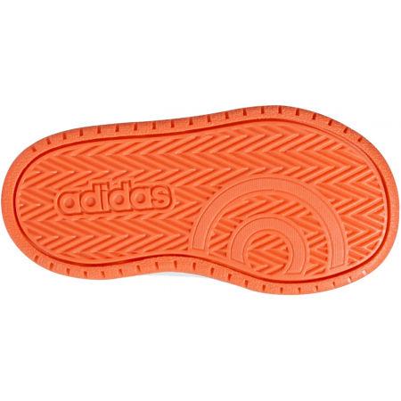 Detská voľnočasová obuv - adidas HOOPS MID 2.0 I - 6