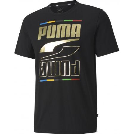 Puma REBEL TEE V CONTINENTS - Pánské sportovní triko