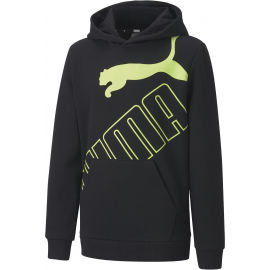 Puma BIG LOGO HOODIE FL B - Chlapčenská mikina