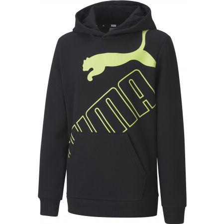 Puma BIG LOGO HOODIE FL B - Chlapecká mikina