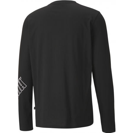 Pánské triko - Puma REBEL LONGSLEEVE TEE - 2