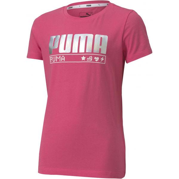 Puma ALPHA TEE G  152 - Lány póló