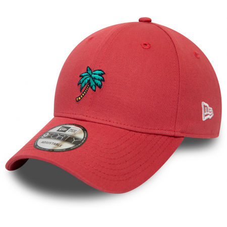 Шапка с козирка - New Era 9FORTY CORAL PALM TREE - 1