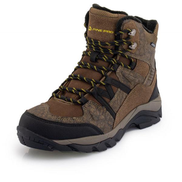 ALPINE PRO DARDAN černá 46 - Pánská zimní obuv